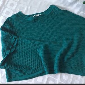 Forever 21 Knit Boxy Crop Top Shortsleeved